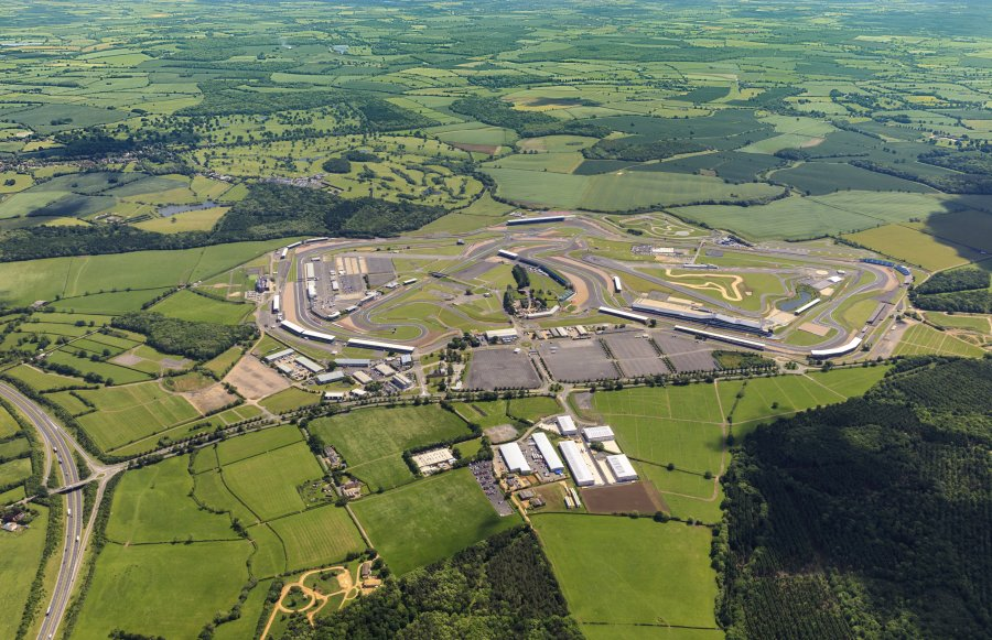 Silverstone Park from the air
